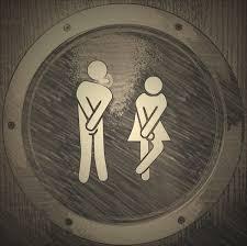 Una toilette libera